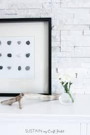 Simple Diy Home Decor Diy Wall Art Beach Stone Home Decor U2013 Sustain My Craft Habit