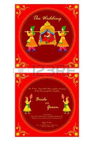 indian wedding invitations chicago vector illustration of indian wedding invitation card royalty free