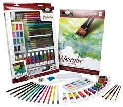 royal u0026 langnickel essentials deluxe watercolor mixed media art