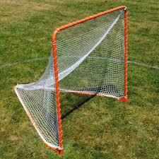 goals folding lacrosse goal with basic net