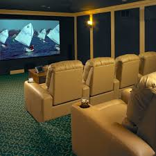 attic home theater room man cave u2013 on the level