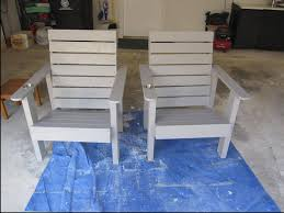 White Patio Chair White Outdoor Patio Deck Chairs Diy Projects