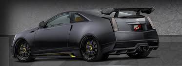 matte black cadillac cts v cadillac cts v coupe le monstre to terrorize las vegas with 1 001