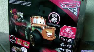 mater monster truck video huge monster truck disney pixar cars 3 toys biggest mater tow