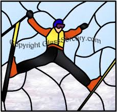 free style skiing color suggestions details on glass at website