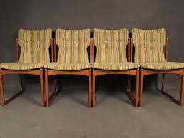 mid century dining room chairs from vamdrup stolefabrik 1960s