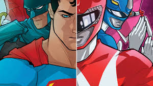 justice league power rangers 1 dc