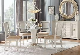 dining room sets michigan michigan avenue cream 5 pc round dining room contemporary