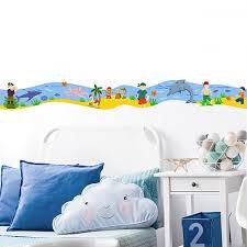 frise pour chambre stickers autocollants frise et l ile au trésor déco enfant