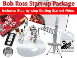 art supply start up kit bob ross master paint set youtube