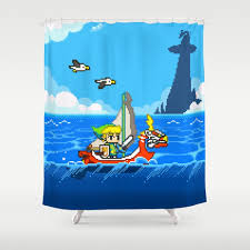 gaming shower curtains society6