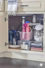 sink kitchen cabinet organizer pin on home organization