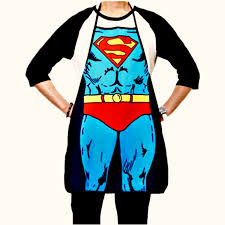 funny thanksgiving aprons superman apron the clutter shop