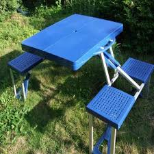 Plastic Folding Picnic Table Abs Plastic Folding Picnic Table And Chair Global Sources