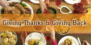 thanksgiving day church outreach ideas