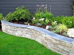 Raised Rock Garden Beds Rock Garden Edging Ideas Awesome Flower Garden Edging Ideas About