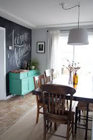 dining room chalkboard wall trend to love dining room chalkboard