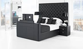 Kingsize Tv Bed Frame Astonishing King Size Tv Bed Frame 85 In Interior Design