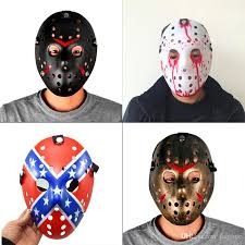 jason costumes colorful porous men mask jason voorhees freddy horror