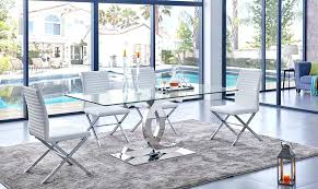 Dining Room Furniture Montreal Glass Top Dining Room Tables Montreal Modern Table Set Simple
