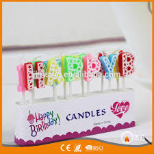 Personalized Birthday Candles Factory Customized Birthday Candle Amazing Happy Birthday Candle