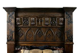Alexander Julian Bedroom Furniture by Gothic High Style Bed High End Bedroom Set