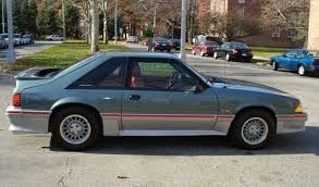 1988 mustang paint colors