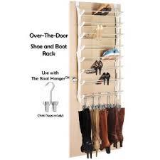 Closet Door Shoe Storage The Door Shoe And Boot Rack Storage Closet Or Bedroom Door