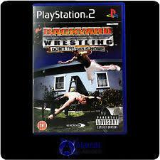Backyard Wrestling Characters Sports Sony Playstation 2 Wrestling Video Games Ebay