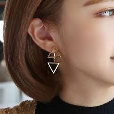 triangle earrings triangle earrings ebay