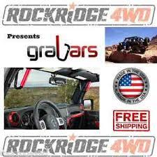 jeep wrangler grips jeep wrangler jk jku 07 15 front grabars mount solid steel