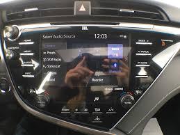 new 2018 toyota camry xse v6 standard package bz1hrt am 4 door car