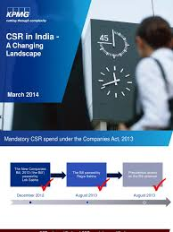 csr in india changing landscape corporate social