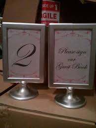 silver frames for wedding table numbers 33 best my wedding images on pinterest ashley slack calamigos
