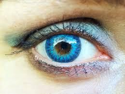 ciba vision freshlook air optix brilliant blue coloured contact
