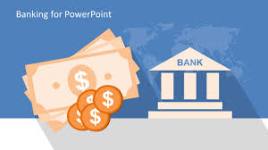 free bank industry powerpoint template