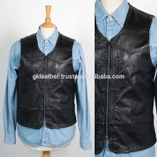 leather biker vest motorcycle leather vest motorcycle leather vest suppliers and