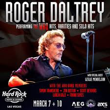 Roger Meme - roger daltrey the pre sale for tickets for the joint at