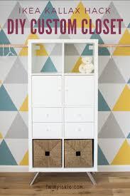 Ikea Closet Hack 953 Best Organize With Ikea Expedit Kallax Bookcases Group Board