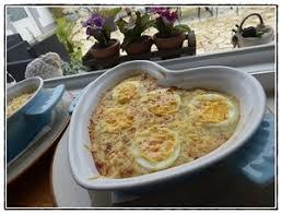 cuisiner avec le thermomix oeufs durs gratinés et sa fondue de poireaux version avec thermomix