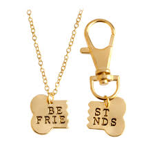 necklace best friends images Best friends dog bone necklace pawsome couture png