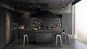 black kitchen design by design at sketch designshell