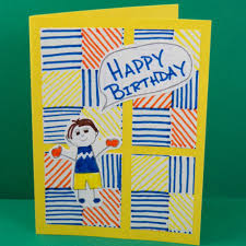 kids u0027 four patch birthday cards cards for kids to make aunt