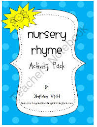 33 best lesson plans nursery rhymes and songs images on pinterest