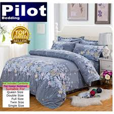 Best Rated Bed Sheets Pilot Bedding 4 In 1 Flower Combination Fl001 Queen Double Full