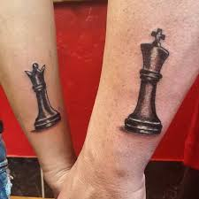 51 king and queen tattoos for couples stayglam