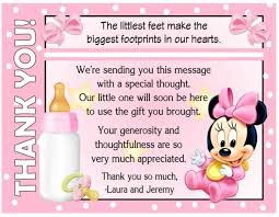 thank you card for baby shower thank you cards for baby shower thank you card etiquette