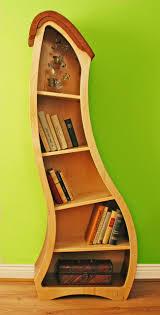 Triangle Shaped Bookcase 22 Extremely Creative Bookshelves