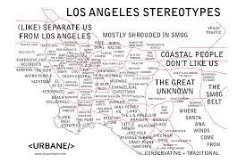 los angeles suburbs map they labeled our part of l a as so