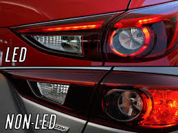mazda 3 tail lights depo 4pcs touring style led tail light for 2014 2017 mazda 3 mazda3